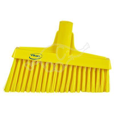 Lobby Broom, Angle Cut, 260mm Medium, Yellow