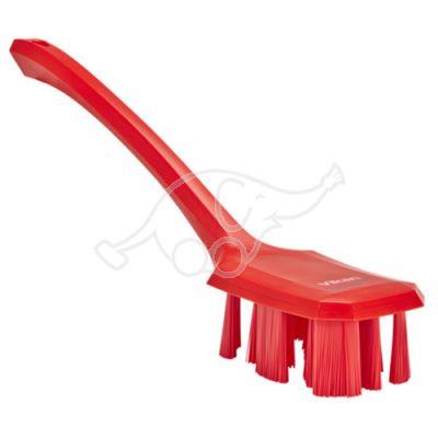 Vikan UST käsipesuhari pikk vars 395mm, tugev, punane