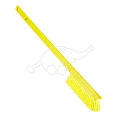 Vikan Ultra-Slim Cleaning Brush with Long Handle, 600 mm, Me