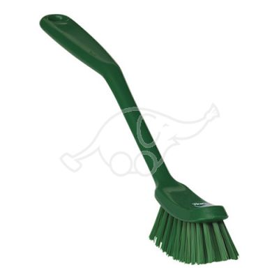 Medium dish brush 255mm green