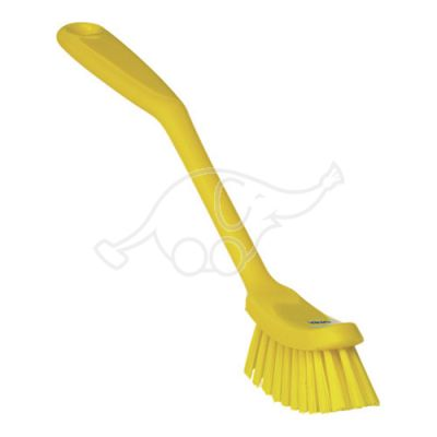 Medium dish brush 255mm yellow