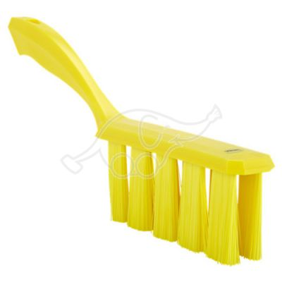 UST bench brush, 330mm, medium, yellow