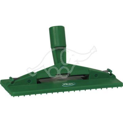 Pad holder floor model 235mm green