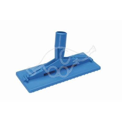 Pad holder floor model 235mm blue