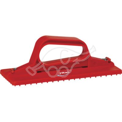 Pad holder hand model 230mm red