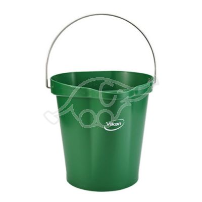 Bucket 12L green