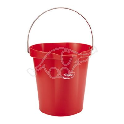 Hygiene Bucket 12L Red