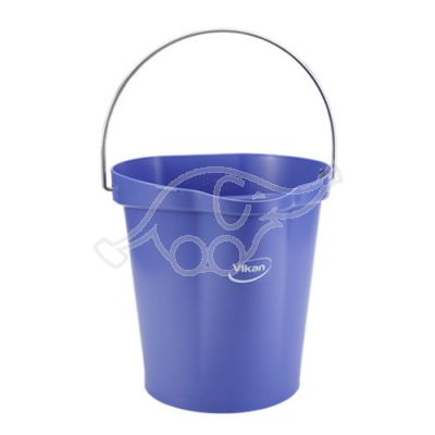 Bucket 12L purple