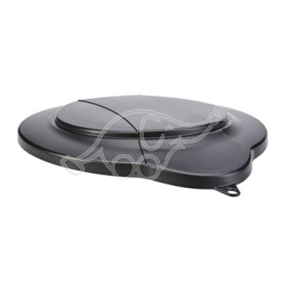 Bucket lid black