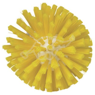Meat mincer brush 135mm medium yellow