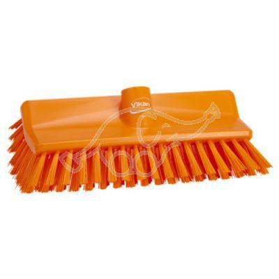 High/low brush hard orange
