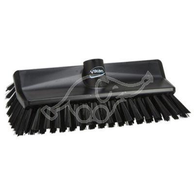 High/low brush hard black