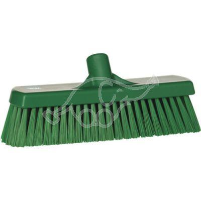 Medium floor broom, 300 mm green