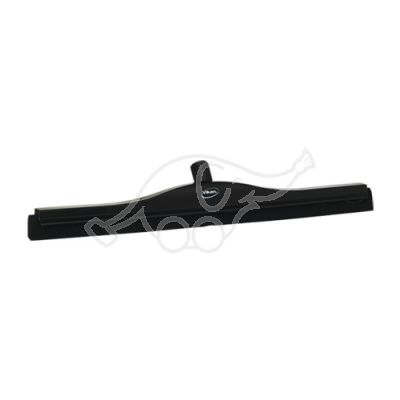 Vikan Transport Floor Squeegee, 600 mm, oil resistant, Black