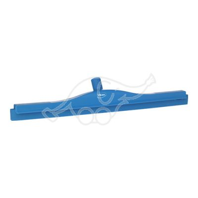 2C Double blade squeegee w/revolv.neck 600mm blue