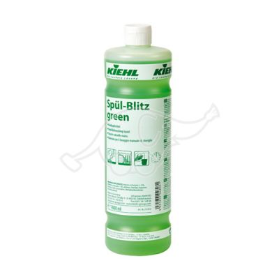 Spül-Blitz green 1L Washing-up liquid with gloss dryer