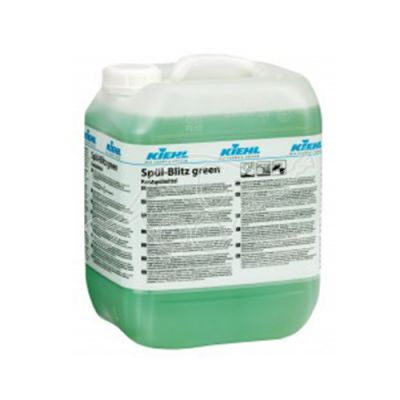 Spül-Blitz green 10L Washing-up liquid with gloss dryer