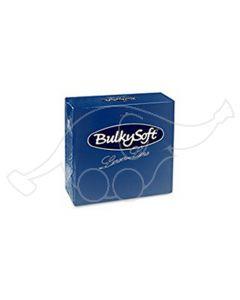 BulkySoft salvrätik 40x40cm, Airlaid, sinine, 500tk/kastis