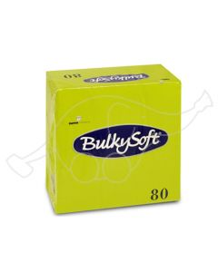 BulkySoft salvrätik 33x33cm, 3-kihil, kiivi, 1600tk/kast