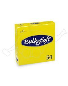 BulkySoft salvrätik 33x33cm, 2-kihil, sidrun 1200tk/kast