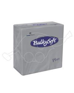 BulkySoft napkins Plus 38x38 2-ply grey