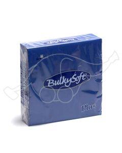 BulkySoft napkins Plus 38x38 2-ply blue