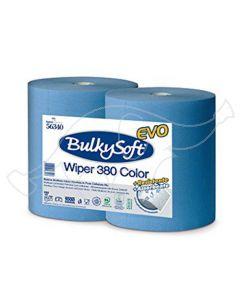 BulkySoft Wiper 380 tööstuslik rullrätik sinine 0,36x380m