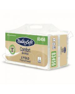 BulkySoft Comfort Z-fold 2xlehträtik 200lehte/pakis