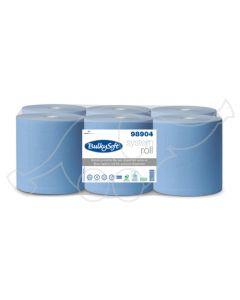 Bulkysoft System roll 200m, blue