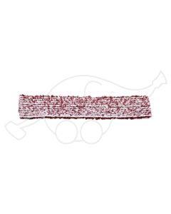 Sappax mikro/polüester 45cm põrandarätik valge/veinipunane