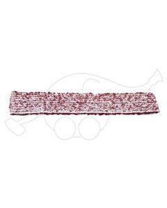 Sappax mikro/polüester 55cm põrandarätik valge/veinipunane