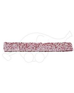 Sappax mikro/polüester 85cm põrandarätik valge/veinipunane