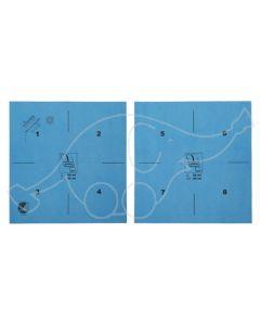 Vileda MicronQuick mikrokiudrätik sinine 40x38cm prindiga