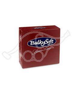 BulkySoft salvrätik 40x40cm,Airlaid, veinipunane 500tk/kasti