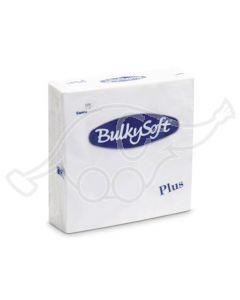 BulkySoft salvrätik 38x38 Plus 2-kih. valge1680tk/kastis