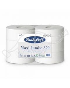BulkySoft Maxi Jumbo 320 Premium tualettpaber 2-kih 320m
