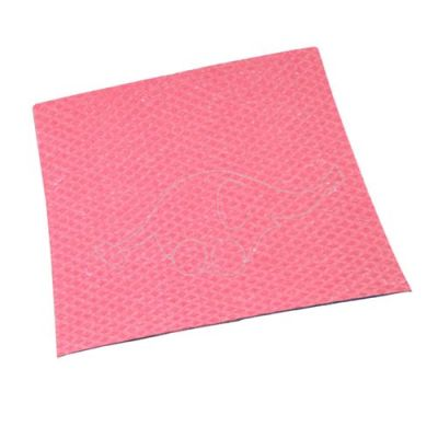 Sponge cloth 25x31cm red