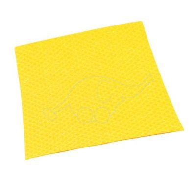 Sponge cloth 25x31cm yellow