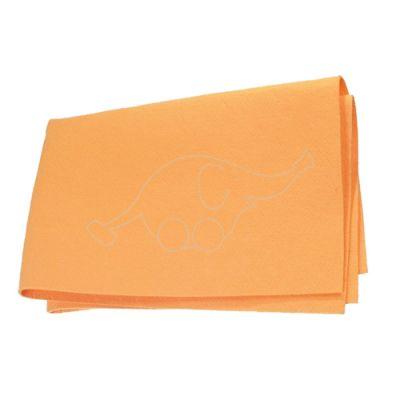 Floor Cloth non-woven, orange  50x70cm