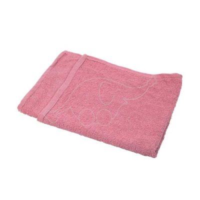 Floor cloth cotton 50x70cm red