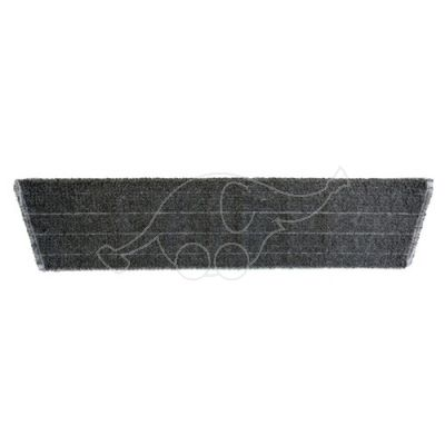 Micro mop light weave grey 60cm, velcro
