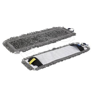 Vikan Wet Scrub Mop pocket, 40 cm, Grey