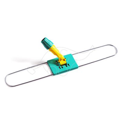 Dust mop frame 100cm w/plastic plate&sup