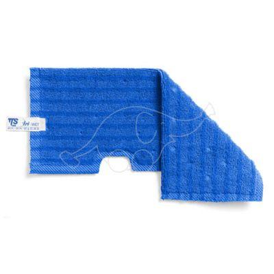 Tri wet blue microfibre
