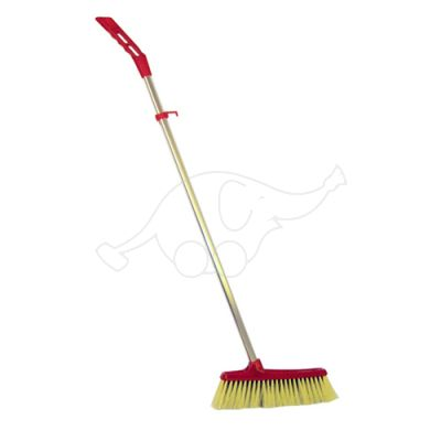 Dust brush Standard adjustable red