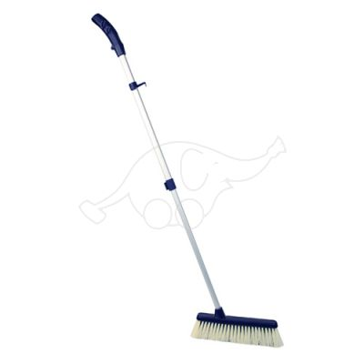 Dust brush Max Ergro adjustable blue