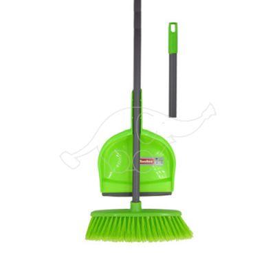 Dust pan + brush set
