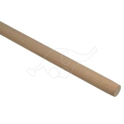 Wood handle natural 145cm diam.28