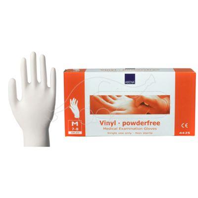 Abena vinyl glove powderfree M/7-8 100 pc/pack, permanent