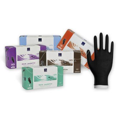 Hospi-Care Nitril black glove powder free L/8-9